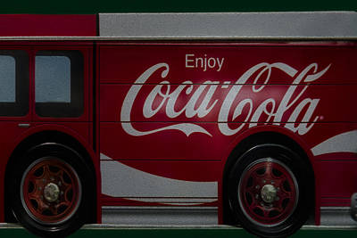 Enjoy Coca Cola Print by Susan Candelario