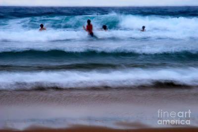 enjoy the ocean I Print by Hannes Cmarits