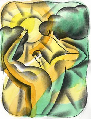 Forecast Painting - Enlighten by Leon Zernitsky
