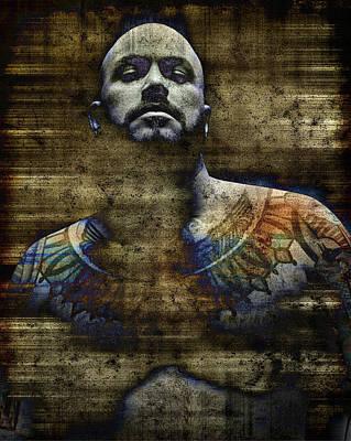 Tattoos Digital Art - Enlightenment 4 by Chris Lopez
