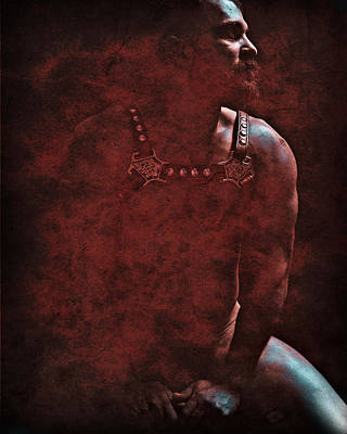 Fetish Digital Art - Enlightenment 7 by Chris  Lopez