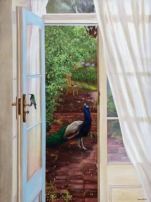 Damian Painting - Enter Eden by Damian Osborne