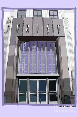 Frist Museum Digital Art - Enter The Frist by Christa Cruikshank