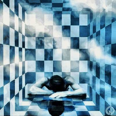 Dream Digital Art - Entering A New Dimension by Gun Legler