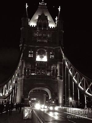 London Photograph - Enteringtowerbridge by Denvie Green