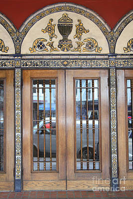 Eureka Valley Photograph - Entrance Doors At The Castro Theater In San Francisco . 7d7615 by Wingsdomain Art and Photography