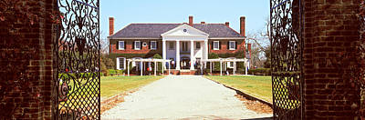 Entrance Gate Of A House, Boone Hall Print by Panoramic Images