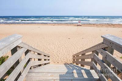 Entrance To Atlantic Beach Print by Elena Elisseeva