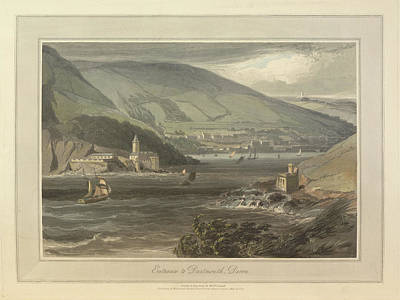 Entrance To Dartmouth Print by British Library