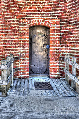 Entrance To Little Sable Lighthouse Print by Twenty Two North Photography