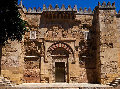 Entrance To The 10th Century Mezquita Print by Panoramic Images