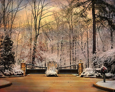 Entrance To Winter Print by Jai Johnson