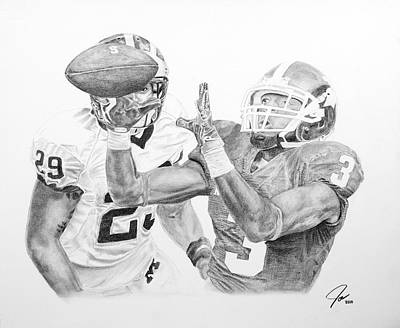 Michigan State Mixed Media - Epic Game by Joseph Everson
