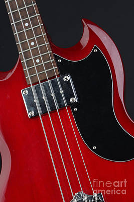 Epiphone Guitar Photograph - Epiphone Sg Bass-9193 by Gary Gingrich Galleries