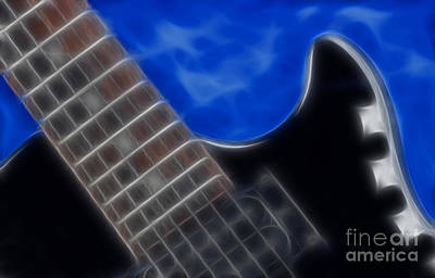 Epiphone Special Ll Les Paul-9705 Print by Gary Gingrich Galleries