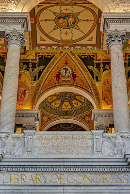 Capitol Building Photograph - Erected Under The Act Of Congress by Susan Candelario