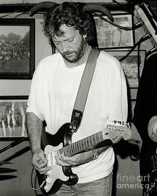 Eric Clapton Photograph - Eric Clapton 1988 by Chuck Spang