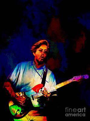 Eric Clapton Digital Art - Eric Clapton 2  by Andrzej Szczerski