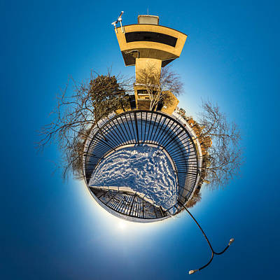 Inner World Photograph - Erie Basin Marina Observation Tower by Chris Bordeleau