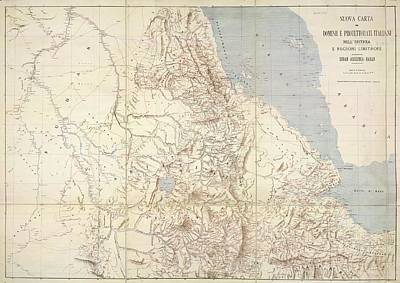 Africa-north Photograph - Eritrea by British Library