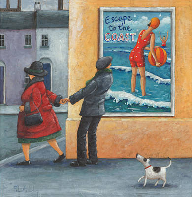 Escape Photograph - Escape To The Coast by Peter Adderley
