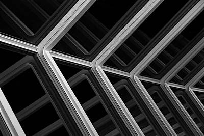 White Photograph - Escher Like by Metro DC Photography