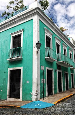Caribbean Corner Photograph - Esquina by John Rizzuto