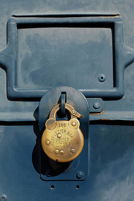 Letter Box Photograph - Essex, Callifornia, United States by Julien Mcroberts