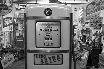 Esso Photograph - Esso Extra by Steven  Michael