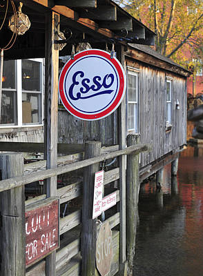 Esso Photograph - Esso Smithville New Jersey by Terry DeLuco