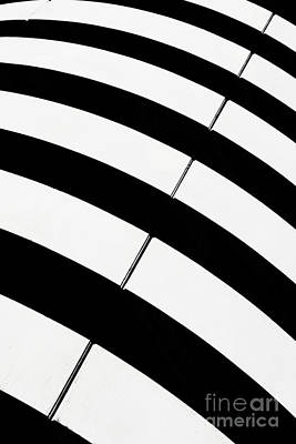 Stylized Photograph - Black And White Stripes by Rod McLean