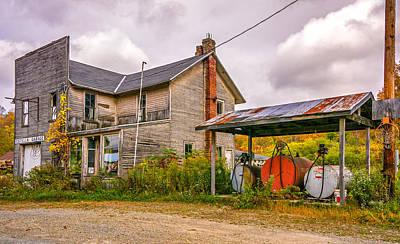 7up Sign Photograph - Estella Garage 4 by Steve Harrington
