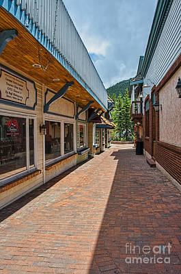 Estes Park 3 Print by Keith Ducker