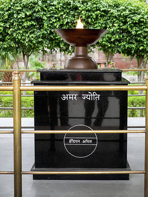 Eternal Flame At Jallianwala Bagh Print by Panoramic Images