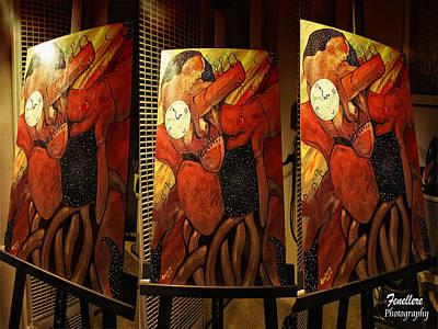 Human Sacrifice Art Painting - Eternal Link by Harvey Dowell Fenellere