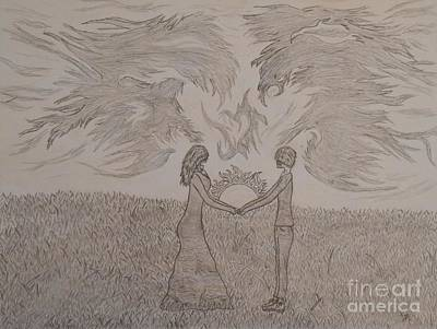 Eternally Drawing - Eternally Torn by Thommy McCorkle