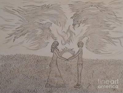 Eternally Torn Print by Thommy McCorkle