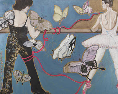 Eternally Painting - Eternally Yours by Darlene Graeser