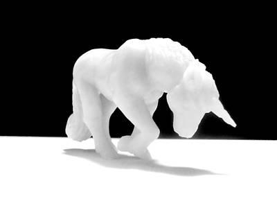 Jab Digital Art - Eternelle Petite Licorne by Marc Philippe Joly