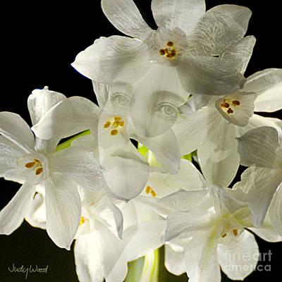 Judy Wood Digital Art - Ethel Narcissus by Judy Wood