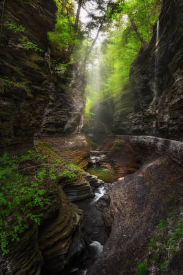 Ethereal Gorge Print by Bill Wakeley