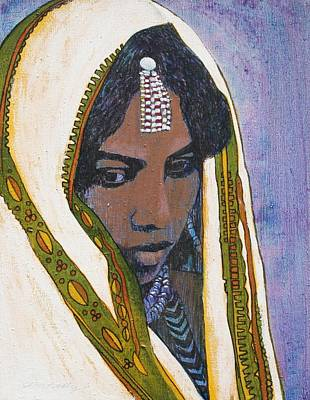 Painting - Ethiopian Woman by J W Kelly
