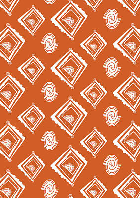 Ethnic Window Print by Susan Claire