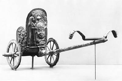 Artefact Photograph - Etruscan Chariot by Underwood Archives