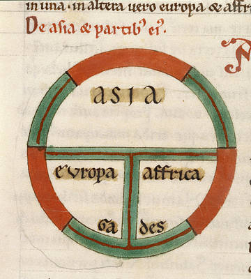 Maps Photograph - Etymologies by British Library