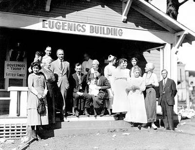 Discrimination Photograph - Eugenics Contest At Public Fair by American Philosophical Society