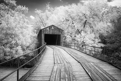 Euharlee Covered Bridge Print by Cindy Archbell