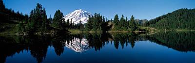 Mt Rainier National Park Photograph - Eunice Lake Mt Rainier National Park Wa by Panoramic Images