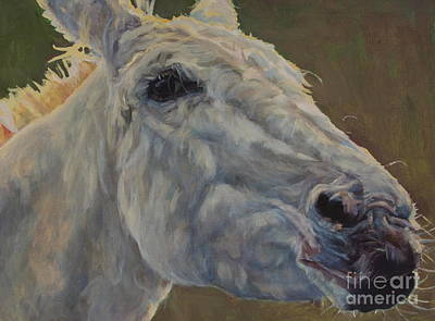 Horse Painting - Eunice by Patricia A Griffin