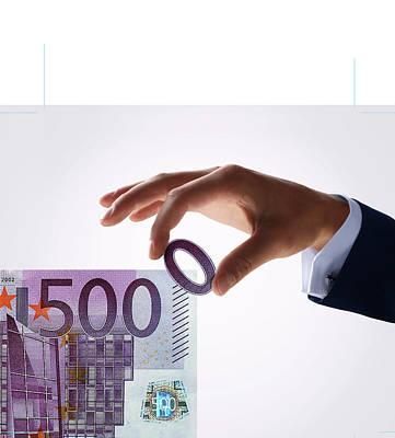 Euro Inflation Print by Smetek